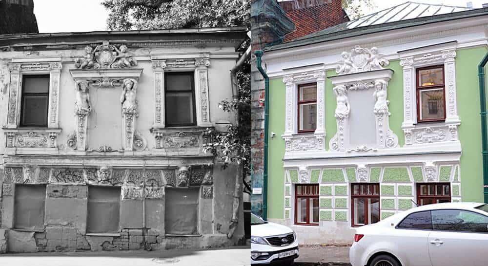 Реставрация зданий и реставрация памятников архитектуры